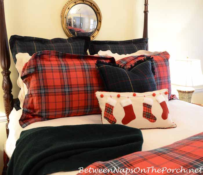 Tartan Plaid Bedding With Ralph Lauren Devonshire Shams