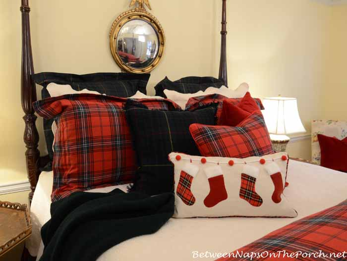 Tartan Plaid Pillows and Bedding