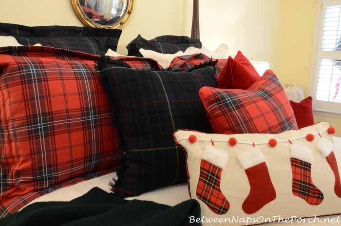 Williams Sonoma Plaid Tartan Shams and Pillows