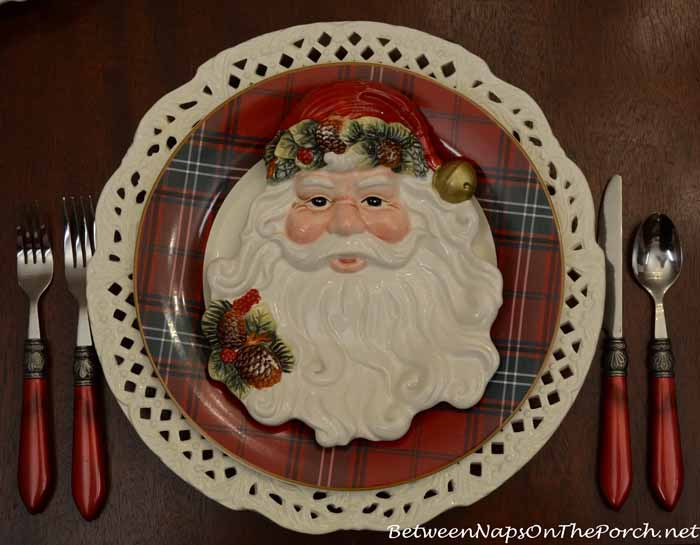 Williams-Sonoma Plates and Santa Plates