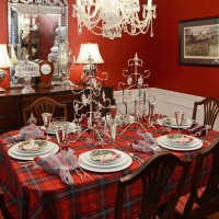 Winter Holiday Tablescape With Noritake Cher Blanc
