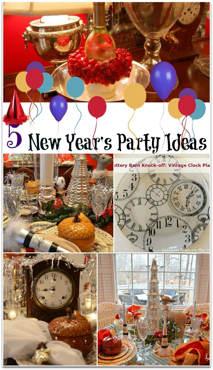 5 New Year's Party Ideas & Table Settings