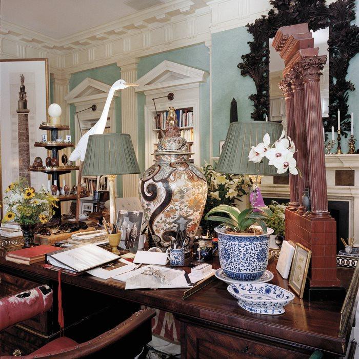 Art Historian, John Richardson's Desk, Connecticut Estate