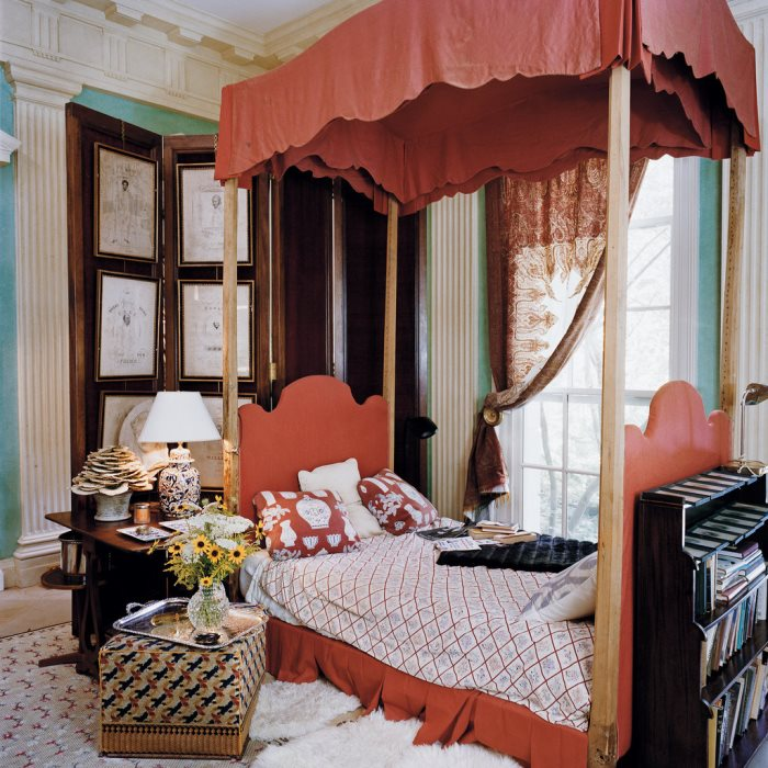 Canopy Bed, John Richardson's Country Home in Connecticut