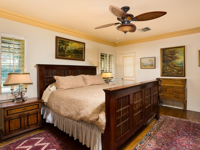Clark Gable's Palm Spring's Home Bedroom