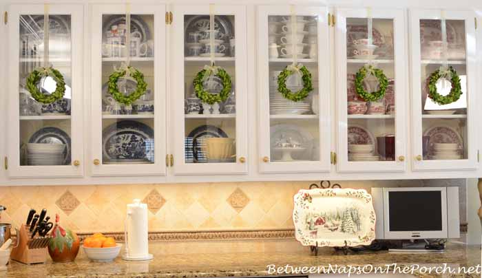 Decorate With Preserved Boxwood Wreaths