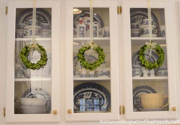 Decorate With Small Preserved Boxwood Wreaths