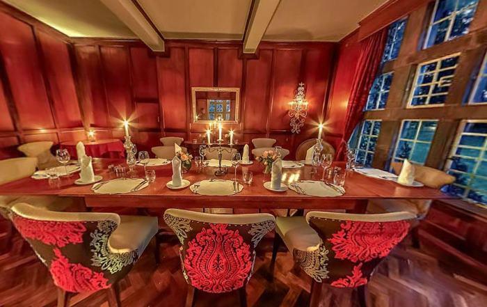 Dining Room at Giraffe Manor