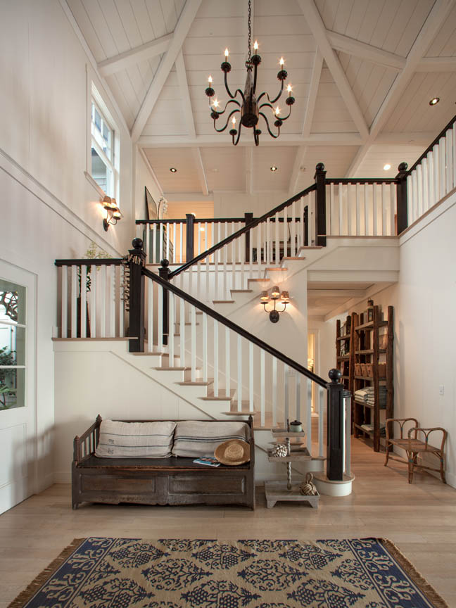 Beach House Foyer : A beach house that rivals the quot something s gotta give
