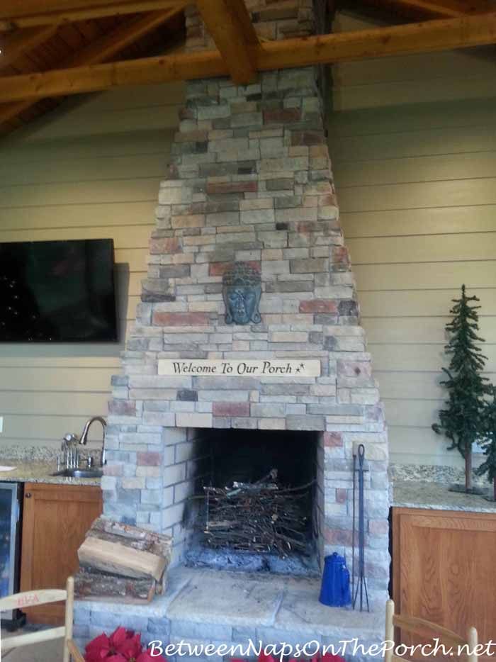 Fireplace on Screened Porch_wm
