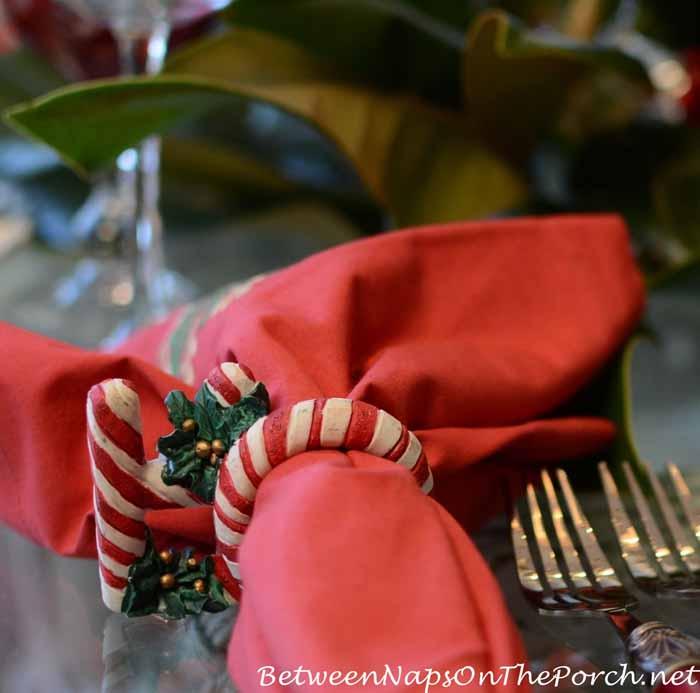 Ho Ho Ho Christmas Napkin Rings