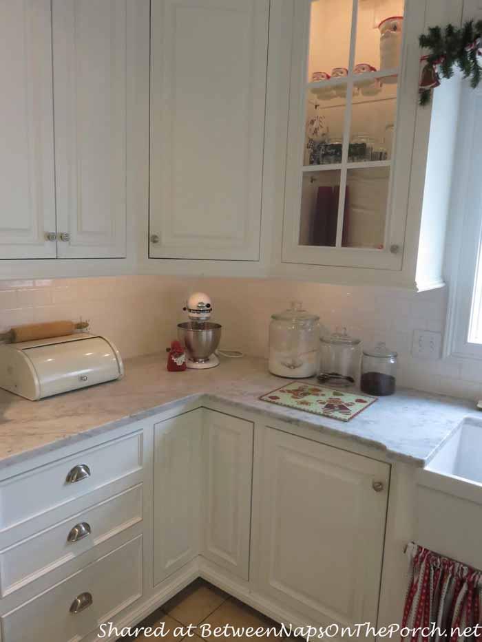 Honed Marble Countertops Farmhouse Kitchen Renovation