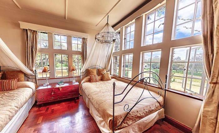 Jock's Bedroom at Giraffe Manor