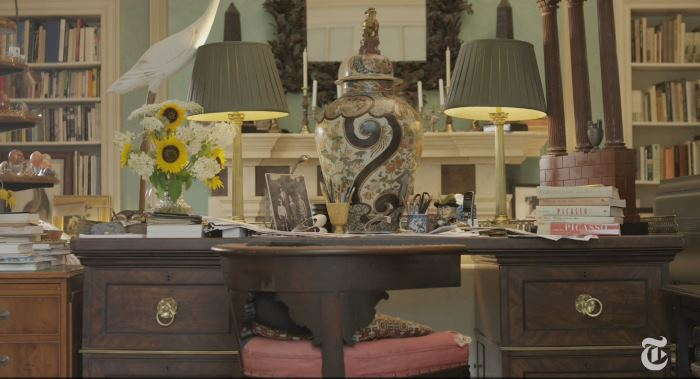 John Richardson's Desk In His English Country House CT