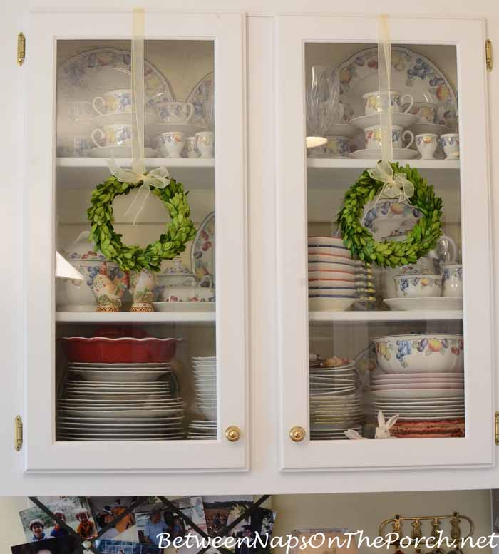 Preserved Boxwood Wreaths for Christmas Decorating