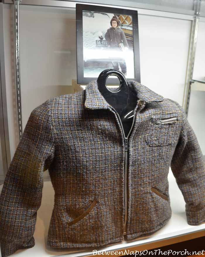 Ralphie's Coat worn by Peter Billingsley in Movie, A Christmas Story