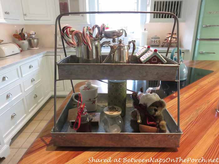 Two-Tiered Tray