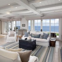 White Slipcover Sofas For Beach House