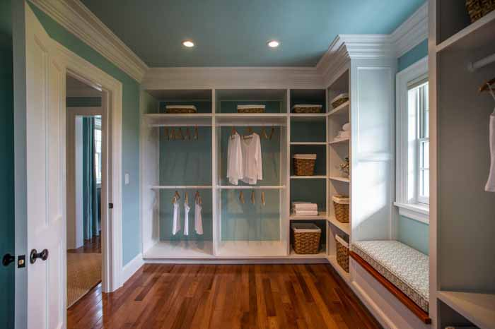 beautiful master bedroom closet i was just thinking a long island in