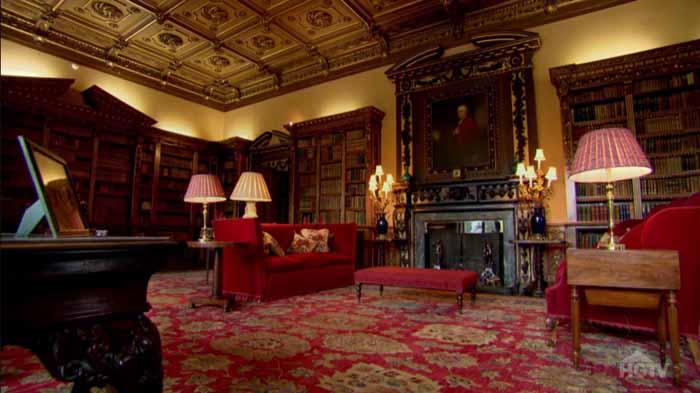 Downton Abbey Highclere Castle 09