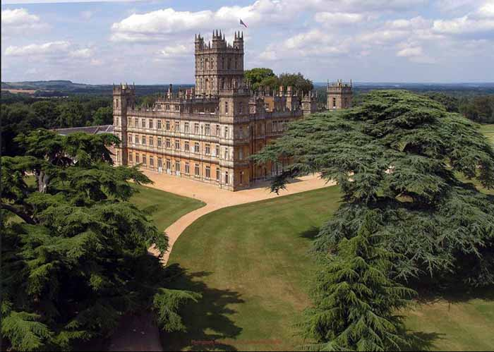 Tour Highclere Castle Home Of Downton Abbey Between Naps On The Porch