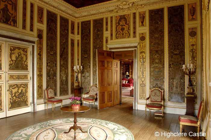 Downton Abbey Highclere Castle Music Room