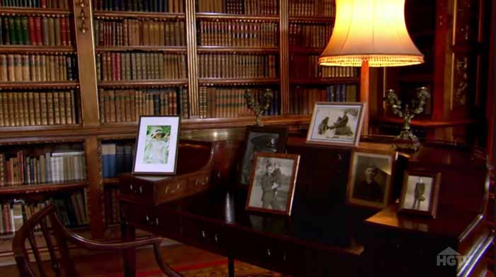 Downton Abbey Library Desk Highclere Castle