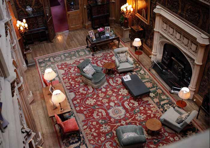 Downton Abbey Saloon Highclere Castle