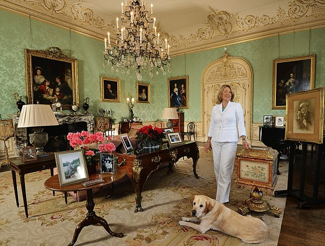 Fiona,8th Countess of Carnarvon at Highclere Castle, 'My Haven'