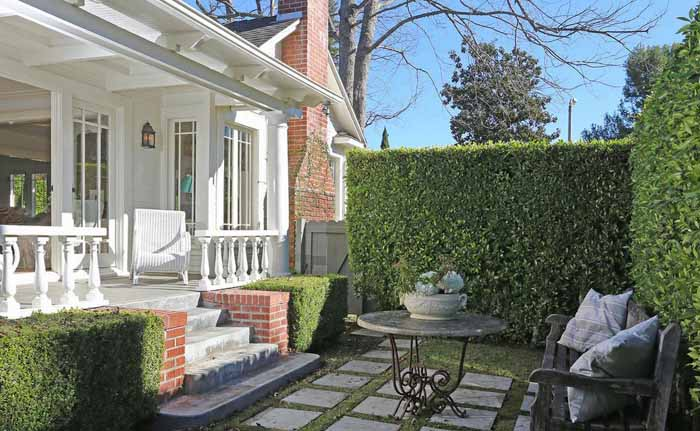 George Peppard Breakfast At Tiffany's Hollywood Home 12
