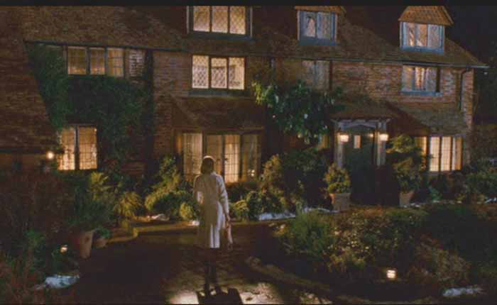 Graham's House in movie, The Holiday