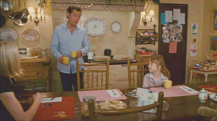 Graham's Kitchen House in Movie The Holiday