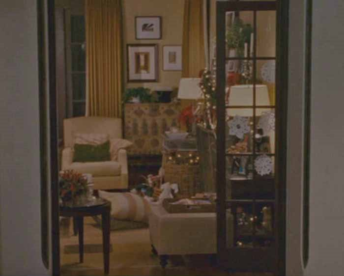 Graham's Living Room in movie, The Holiday
