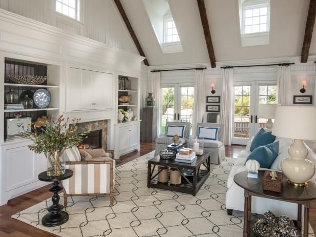 Great Room in HGTV Dream Home 2015