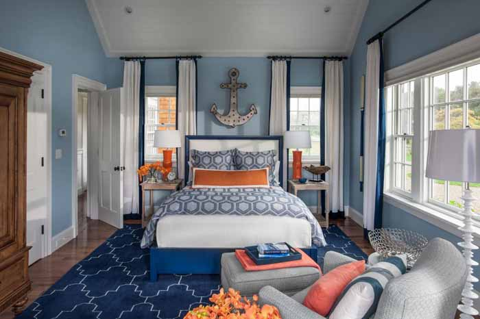 HGTV 2015 Dream Home Nautical Bedroom