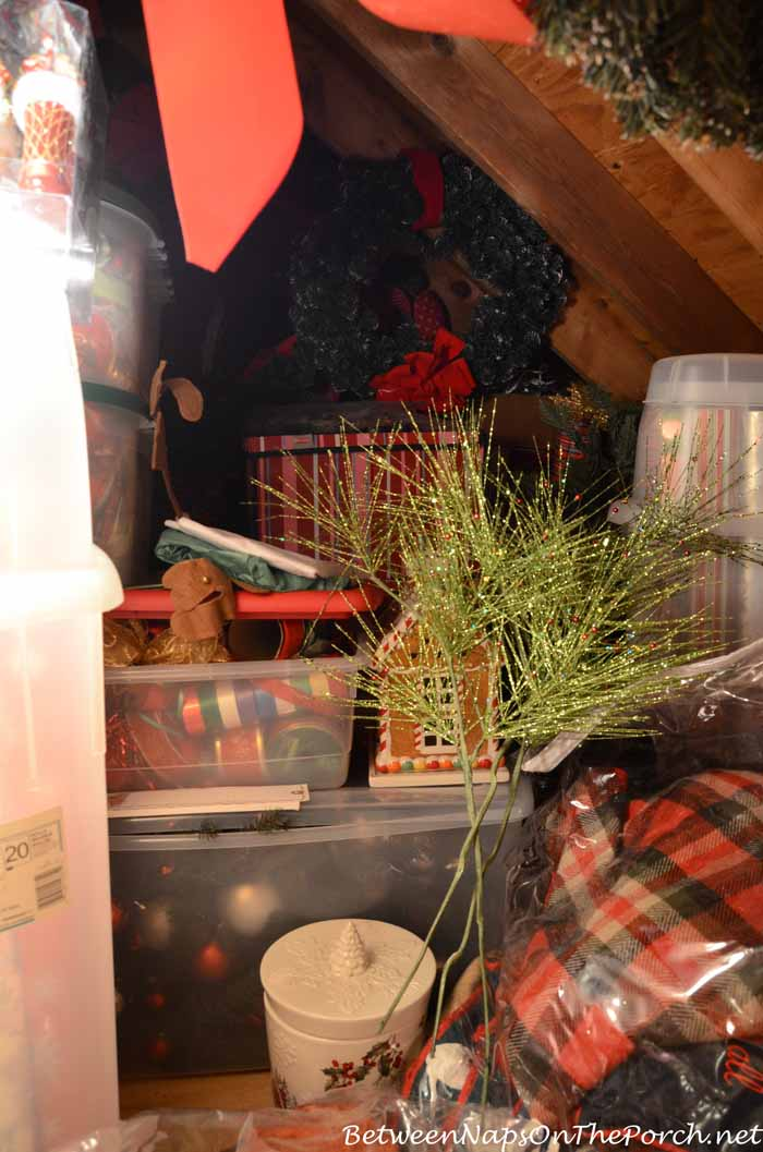 Holiday Decorations and Storage