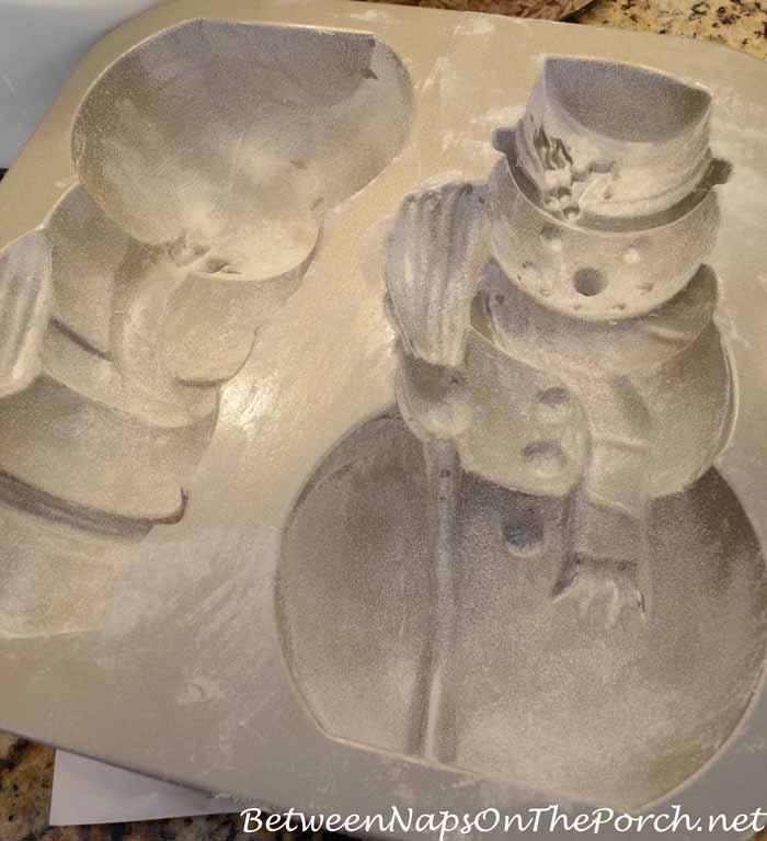 Make a Snowman Spice Cake 07