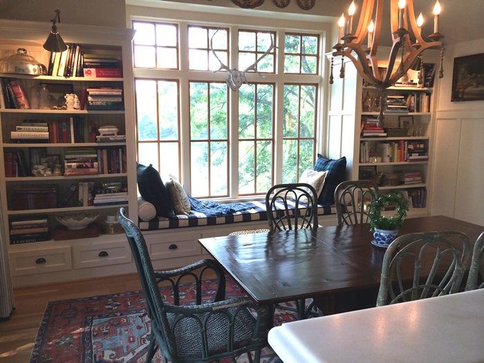 Mary Carol Garrity's Lake House Dining Room