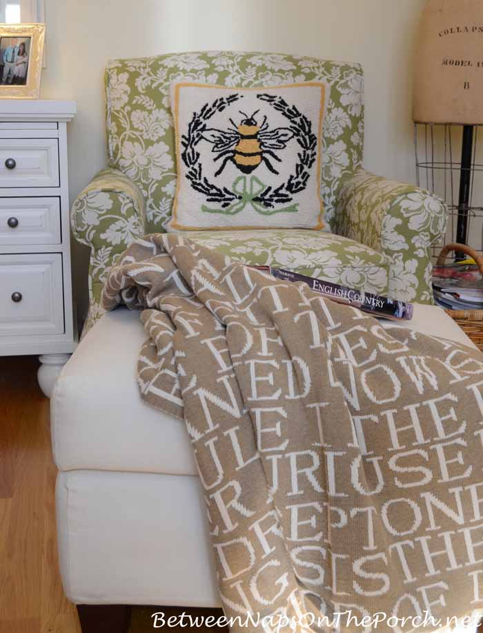 Reading Nook With Quotes Throw From Barnes & Noble
