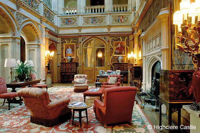 Tour highclere castle home of downton abbey - Downton abbey chateau ...