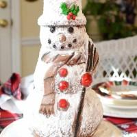 Make A Snowman Spice Cake