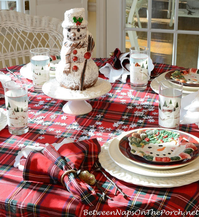 Snowman Table For Winter Dining_wm