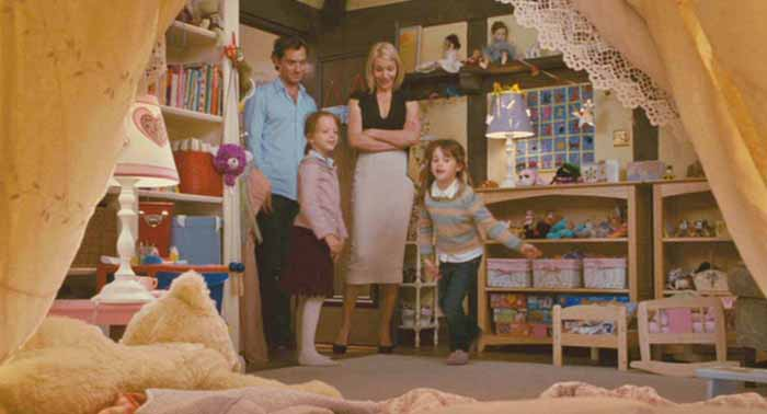 Sophie & Olivia's Room in Movie, The Holiday