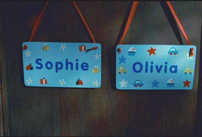 Sophie and Olivia's Bedroom in Movie The Holiday