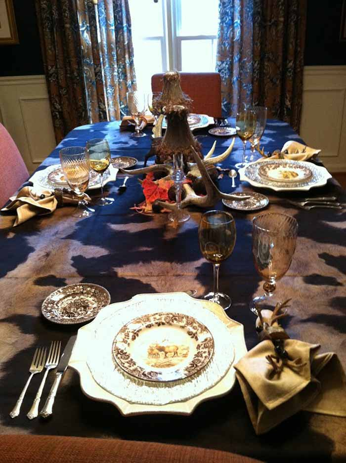 Woodland Tablescape