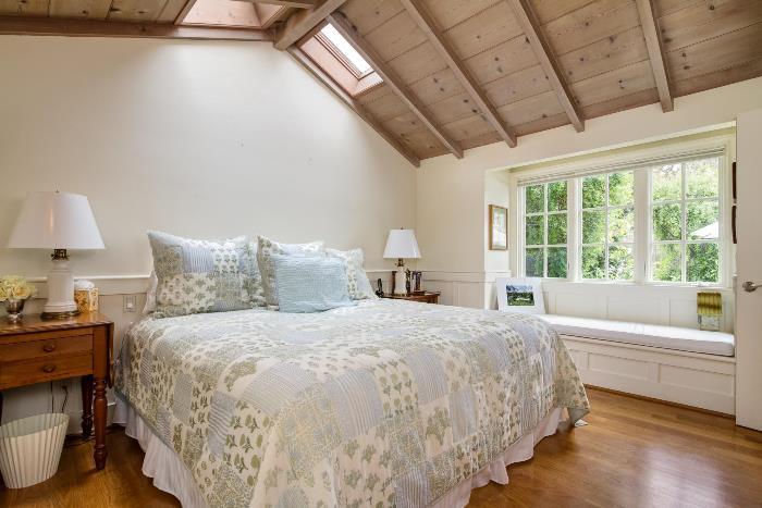 Carmel Cottage Bedroom