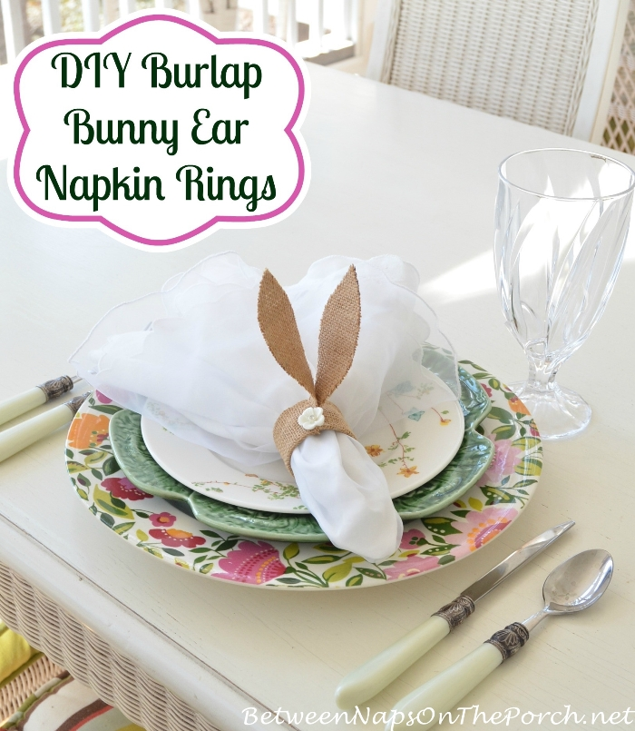 DIY Burlap Bunny Ear Napkin Rings_wm