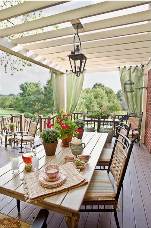 Dining Area For Deck