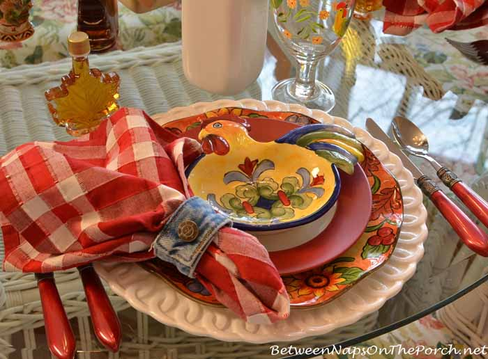 Farm Country Breakfast Table Setting 08