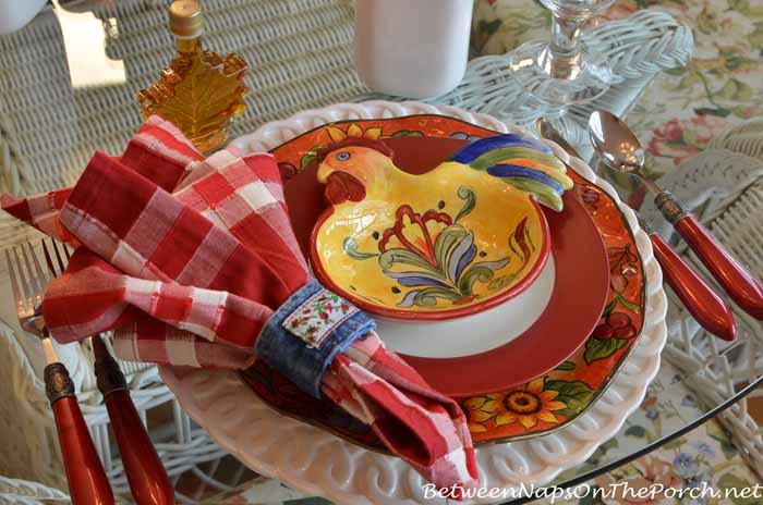 Farm Country Breakfast Table Setting 09